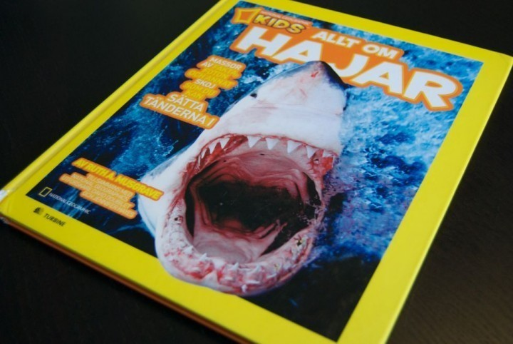 National Geographic KIDS Allt Om Hajar bok book